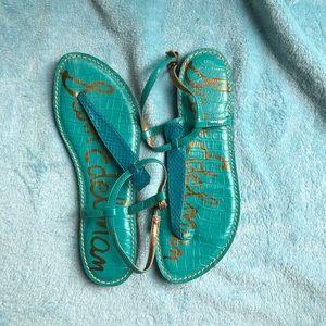 Sam Edelman Teal Sandals